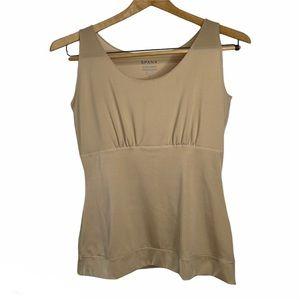 SPANX Nude Shapewear Control Camisole Tank Top 1X